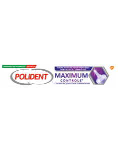 POLIDENT crème fixative maximum contrôle