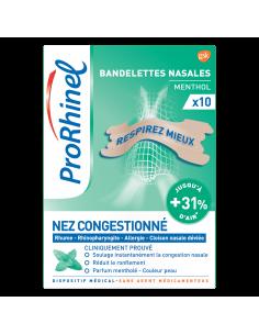 PRORHINEL Bandelettes nasales menthol