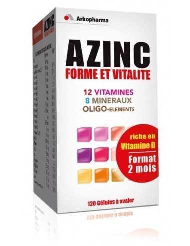 AZINC FORME VITALITE contre la fatigue