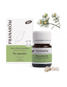 PRANAROM Perles d'huile essentielle de Pin Sylvestre Bio