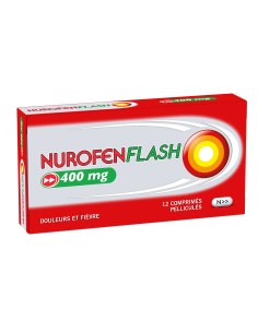 NUROFEN FLASH 400 mg 12 comprimés