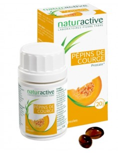 NATURACTIVE PHYTO Hle pép courg Caps Pilul/60
