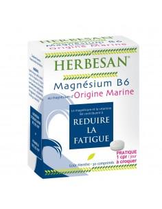 HERBESAN Magnésium B6 Goût Menthe