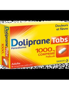 DOLIPRANE Tabs 1000 mg 8...