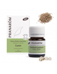PRANAROM Perles d'huile essentielle Cumin bio