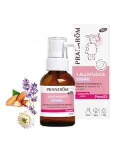 PRANAROM PRANABB Huile de massage sommeil Bio