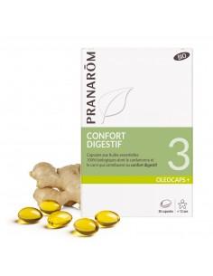 PRANAROM OLEOCAPS 3 Confort Digestif BIO