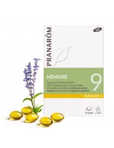 PRANAROM OLEOCAPS 9 capsules aux huiles essentielles BIO