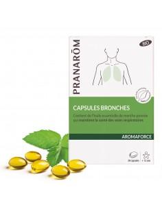 PRANAROM AROMAFORCE Capsules bronches bio