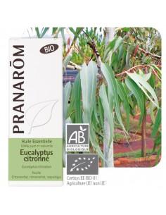 PRANAROM Huile essentielle eucalyptus citronné BIO