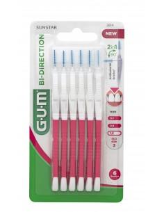 GUM Brossette Bi-Direction 1,2 mm