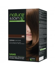 NATURE & SOIN 5G CHATAIN CLAIR DORE