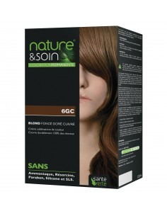 NATURE & SOIN 6GC BLOND FONCE DORE CUIVRE