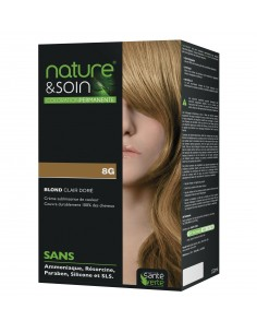 NATURE & SOIN 8G BLOND CLAIR DORE