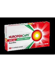 NUROFEN CAPS 400 mg 10 capsules molles