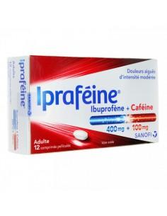 IPRAFEINE Ibuprofène 400mg + Caféine 100mg