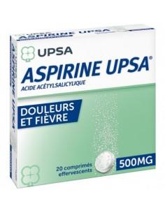 UPSA Douleurs et Fièvre Aspirine 500 mg