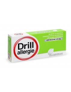 DRILL Allergie Cétizirine 10 mg