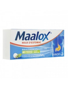 MAALOX Maux d'estomac comprimés