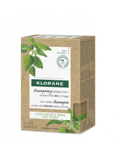 KLORANE Shampoing Masque Poudre Ortie
