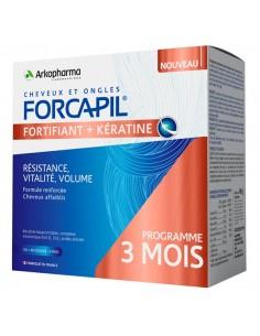 FORCAPIL Fortifiant Kératine + 3 mois