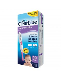 CLEARBLUE Test d'ovulation x10