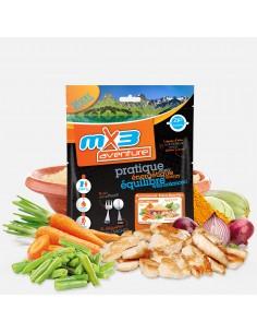 MX3 couscous au poulet lyophilisé