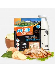 MX3 purée au poulet lyophilisé