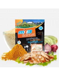 MX3 colombo de poulet et riz lyophilisé
