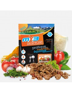MX3 boeuf goulash et riz lyophilisé