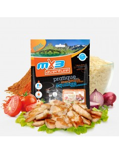 MX3 Poulet tandoori et riz lyophilisé