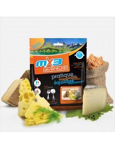 MX3 pasta aux 3 fromages lyophilisé