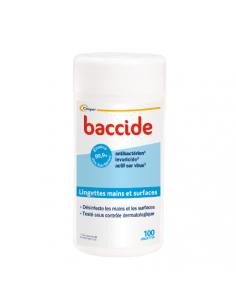 BACCIDE Lingettes desinfectantes x 100