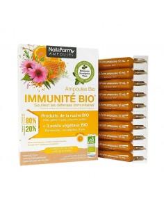 NAT & FORM Ampoules Immunité Bio
