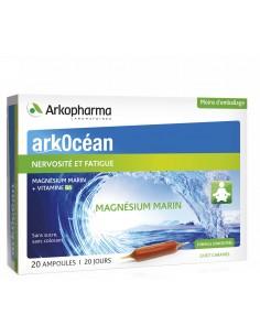 ARKOCEAN magnésium marin ampoules