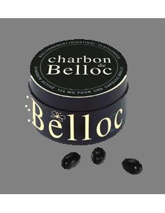 CHARBON DE BELLOC 125MG 60 capsules Boîte en métal