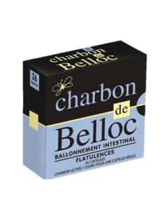CHARBON DE BELLOC 125MG 36 capsules