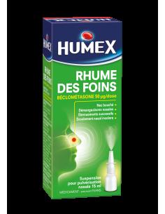 HUMEX Rhume des foins Béclométasone en Pulvérisation Nasale