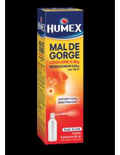HUMEX Mal de Gorge Collutoire