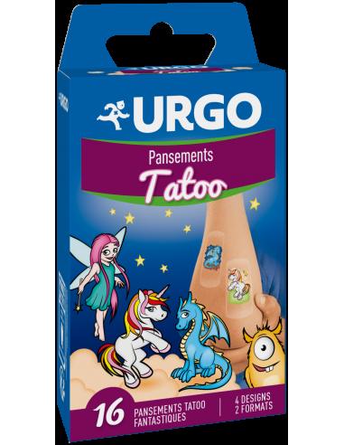 URGO Tatoo Pansements pour enfants