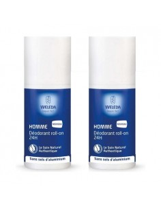 WELEDA Duo déodorant Roll-on 24h pour homme