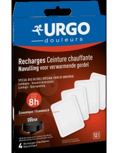 URGO Recharge ceinture chauffante bas du dos