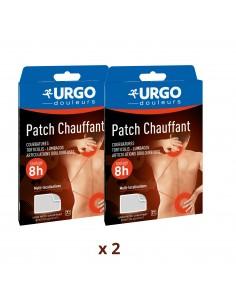URGO Lot de 2 Patchs chauffants multi-localisations