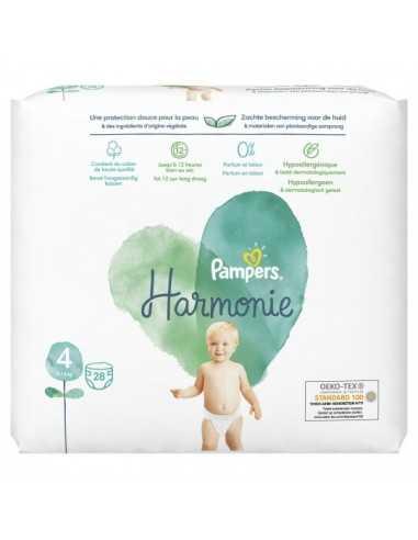 PAMPERS Harmonie Taille 4 (9-14 kg)
