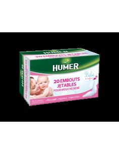 HUMER 20 embouts jetables Mouche bébé