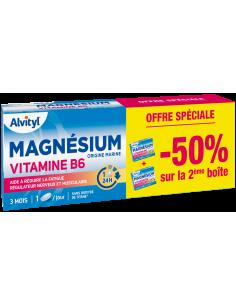 Lot de 2 ALVITYL Magnésium vitamine B6