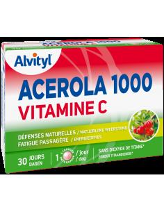 ALVITYL Acérola 1000 Vitamine C