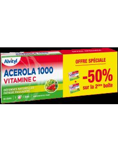 Lot de 2 ALVITYL Acérola 1000 Vitamine C