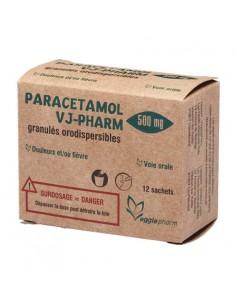 VJ-PHARM Paracétamol 500 mg 12 sachets