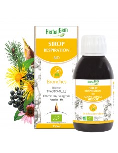 HERBALGEM Sirop Respiration BIO Bronches
